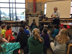 Read to us Week: paleontologist